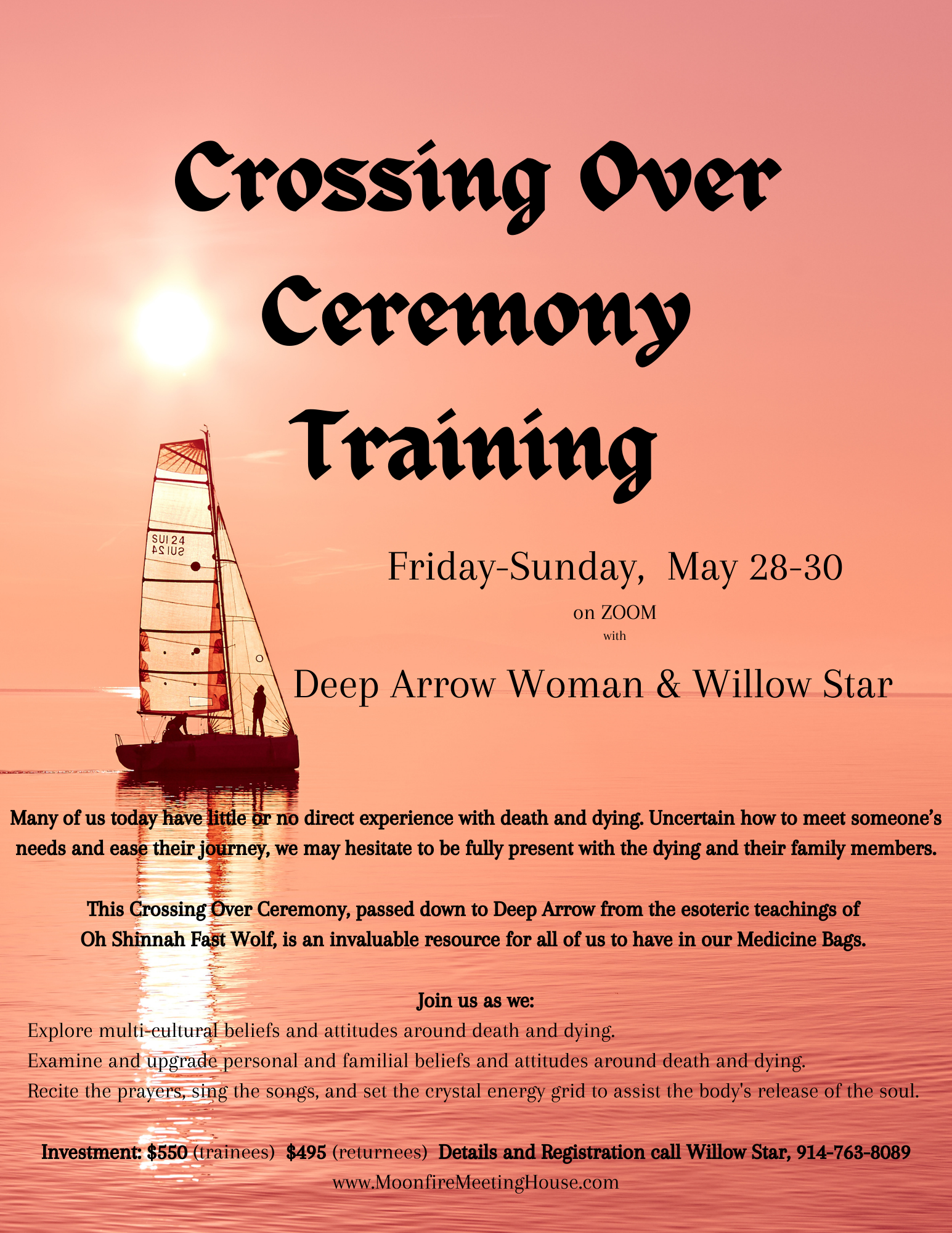 Cross Over Ceremony Training