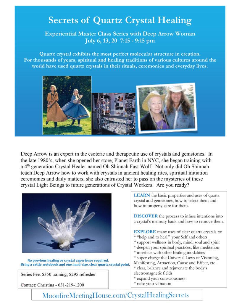 Quartz Crystal Healing Master Class Series